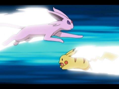 ¡Pikachu Vs. Espeon!   Pokémon: Battle Frontier
