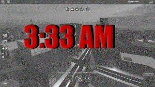NEVER play JAILBREAK at 3:33AM (MeSUSTO) 😣☠️ Roblox