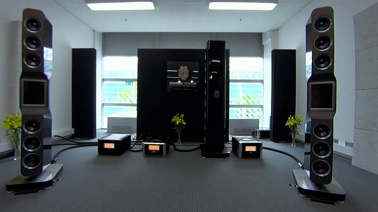 high end 2014 g bel audio the best sound at the munich 2014 show youtube. Black Bedroom Furniture Sets. Home Design Ideas