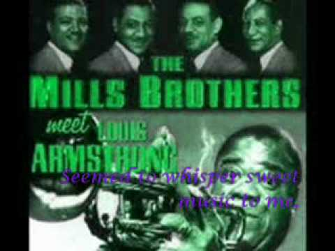 Mills Brothers, Louis Armstrong - In the Shade of the Old Apple Tree