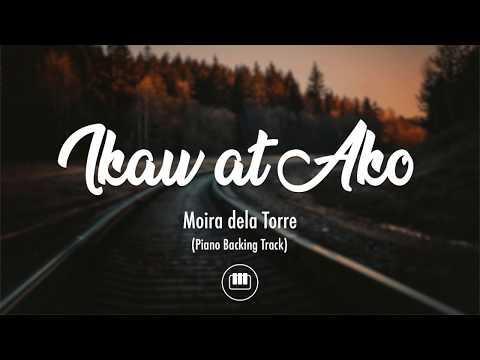 Ikaw At Ako - Moira & Jason (Piano Backing Track)