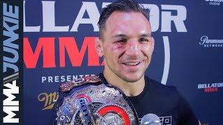Bellator 212: Michael Chandler post-fight interview