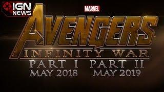 Marvel Announces Avengers: Infinity War - IGN News