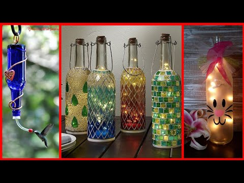 stylish-and-unique-bottle-craft-ideas-for-home-decor