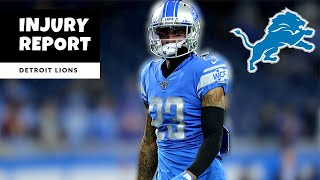 Lions Injury Report! ALMOST Everyone Is Back! Detroit Lions Talk