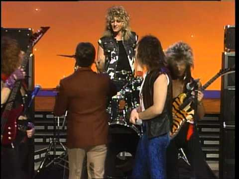 Dick Clark interviews Dokken - American Bandstand 1985