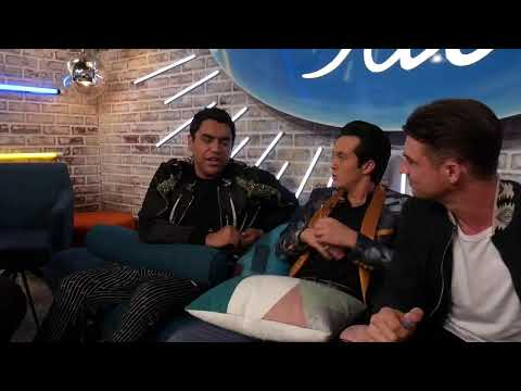 LIVE Backstage with the Top 6 - Woodstock and Showstoppers  - American Idol on ABC