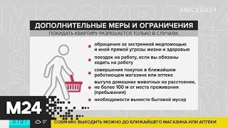 Власти Москвы ввели ограничения на передвижения по городу - Москва 24