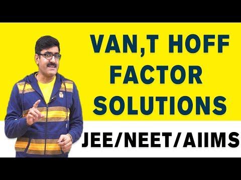 van't Hoff Factor_Solutions by Er. Dushyant Kumar (B.Tech. IIT-Roorkee)