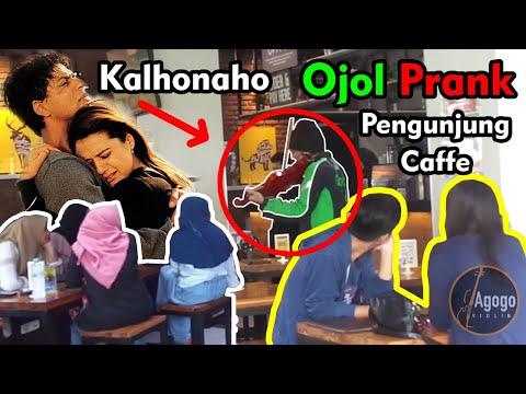 Keren Banget, Ojol Mainkan Lagu Kal Ho Na Ho, Semua Pengunjung Kafe Jadi Baper.