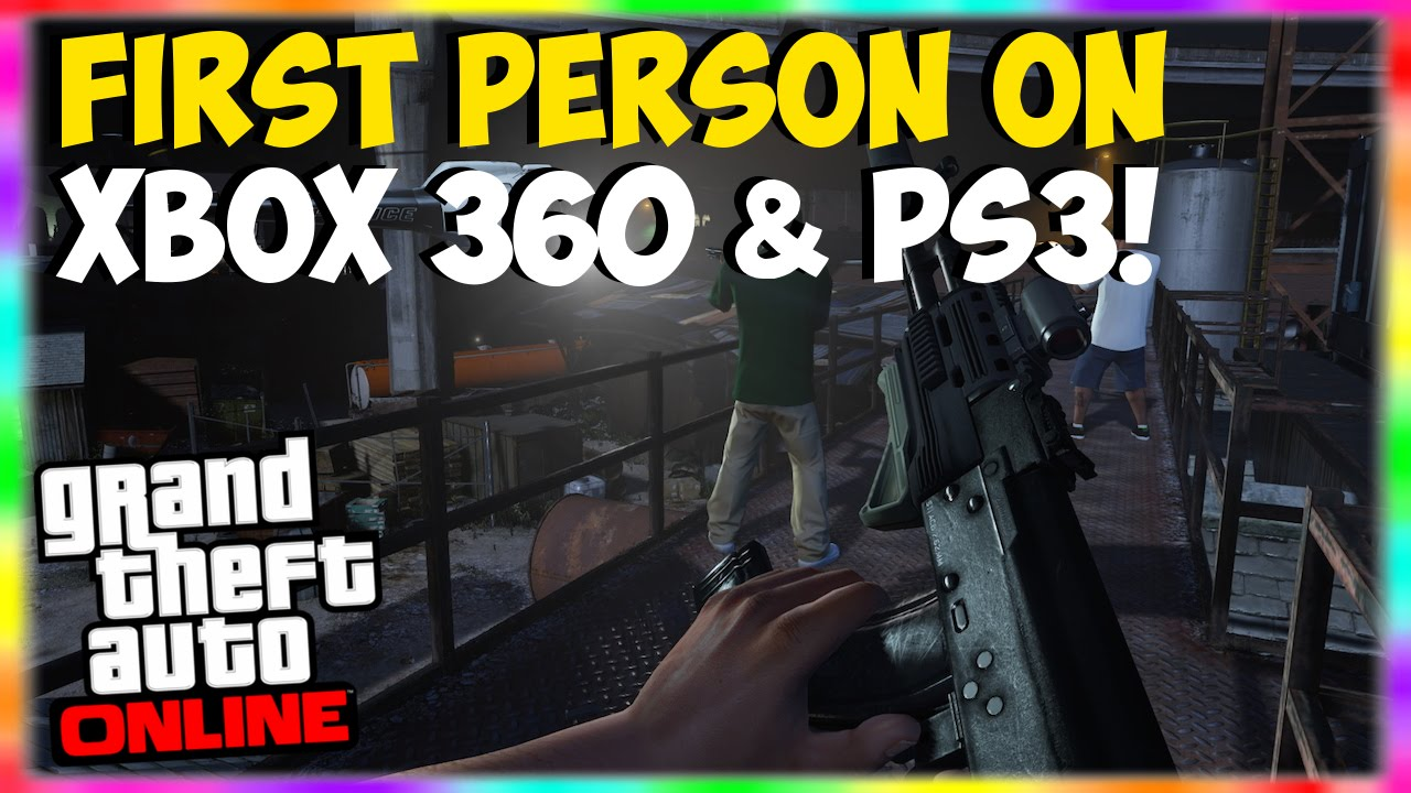 Gta  Online First Person Mode On Xbox  Ps Play First Person Gta  First Person Glitch Youtube