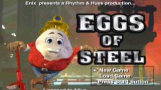 Eggs of Steel Introduction - Playstation