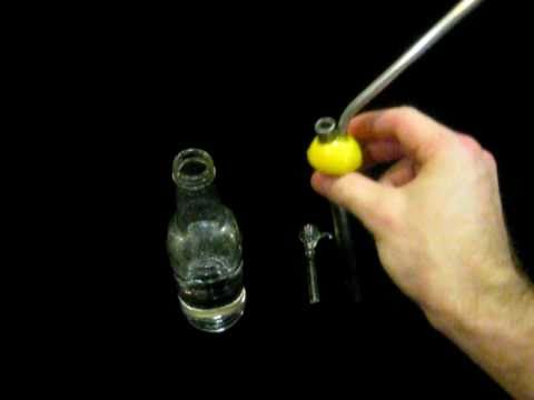 Beer bottle bubbler how to make a glass bottle bong for Make glasses out of bottles