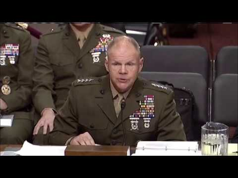 Navy, Marine Corps Leaders Testify at Senate Hearing