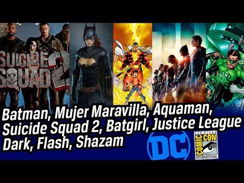 ComicCon Día3: DC comics, Liga de la Justicia, Batman cambiará? y más!