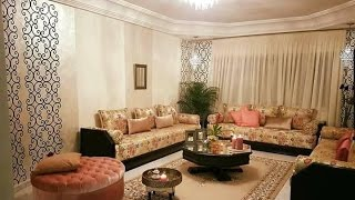 موديلات ألصالون المغربي العصري 2017 - 2018