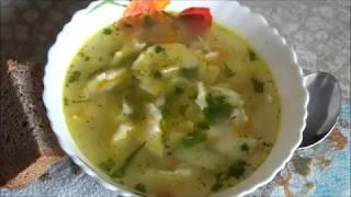 Суп с клецками(Готовим обед. Супчик с клецками. Вкусно, просто, полезно. Желаю кулинарного вдохновения!, 2014-09-19T14:24:56.000Z)