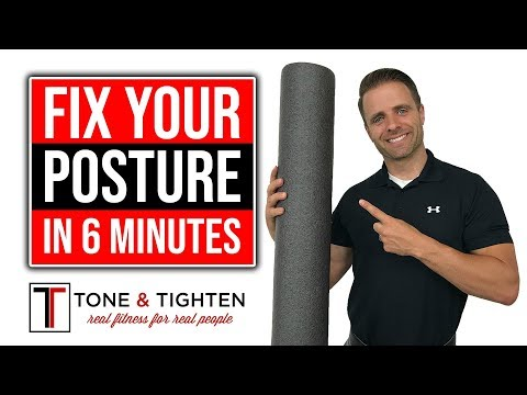 Fix Your Upper Back Posture In 6 Minutes With A Foam Roller