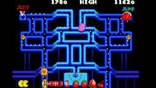 PAC MAN Collection 1080p 60fps | GBA Game