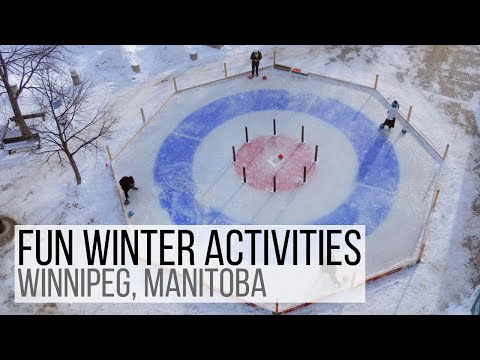 Winter fun in Winnipeg, Manitoba