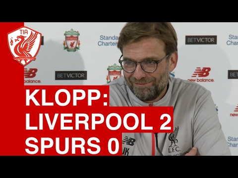 Liverpool 2-0 Tottenham: Jurgen Klopp's Post-Match Press Conference