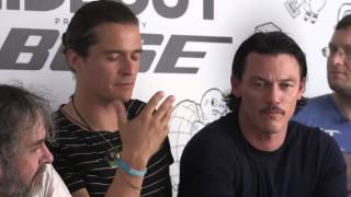 The Hobbit Cast Interviewed at Comic Con