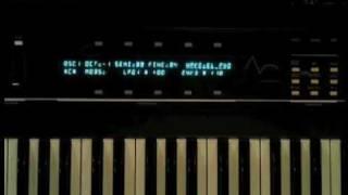 Ensoniq-ESQ-1-Oscillator Demo-Filter Test & Fun
