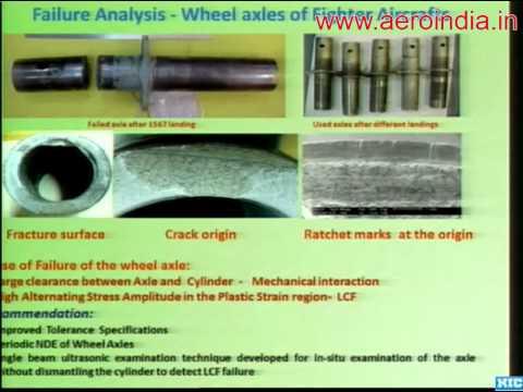 Advanced Non Destructive Evaluation And Failure Analysis - Dr. T Jayakumar [Aero India 2013]