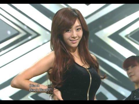 【TVPP】G.NA - Black & White, 지나 - 블랙 앤 화이트 @ Comeback Stage, Show! Music Core Live