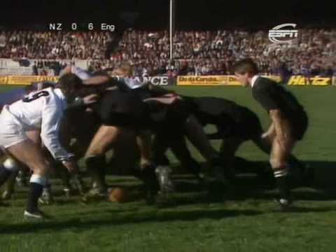 All Blacks vs England 1985 (2nd Test)