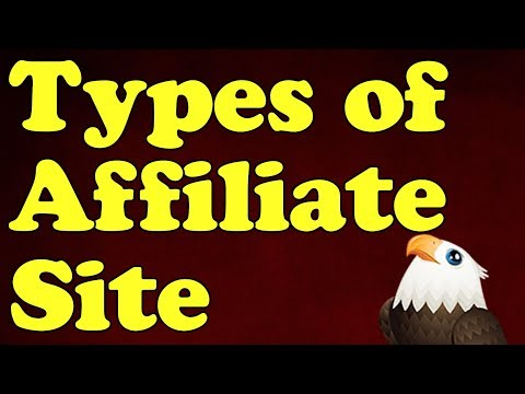 The 5 Types of AFFILIATE MARKETING website with examples