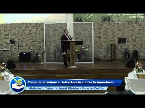 2014 Diciembre 13 - Pastor general Saul Paz - Tema de enseñanza: Advertencia contra la inmadurez