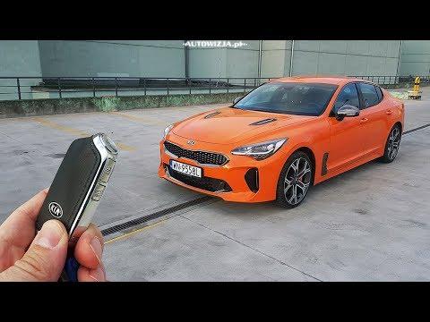KIA Stinger GT 3.3 V6 T-GDI 366 TEST Neon Orange