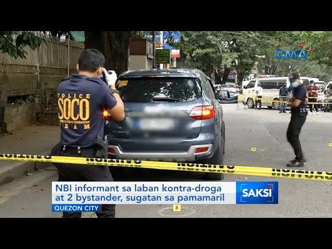 Saksi: NBI informant sa laban kontra-droga at 2 bystander, sugatan sa pamamaril