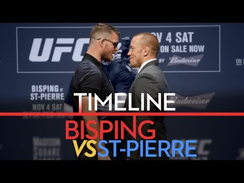 UFC 217 Timeline: Michael Bisping vs. Georges St-Pierre - MMA Fighting