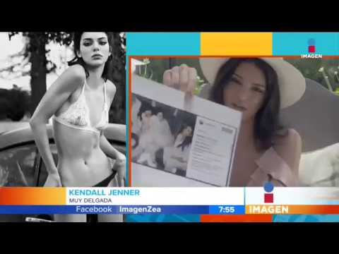 Kendall Jenner criticada por delgadez | Imagen Noticias con Francisco Zea