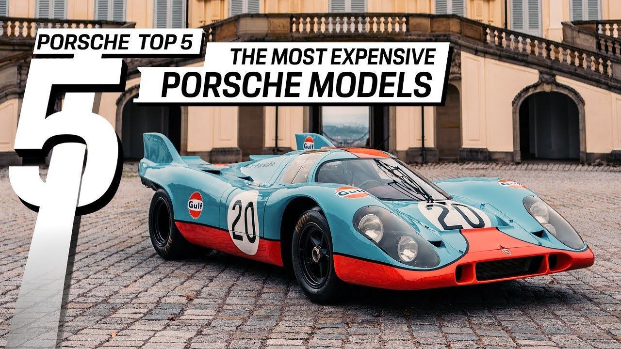 Porsche Top 5 Series Most Expensive Cars Ever Sold