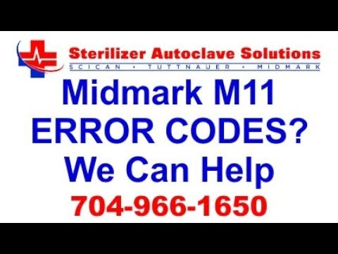 Midmark M11 ERROR CODES? We Can Help!