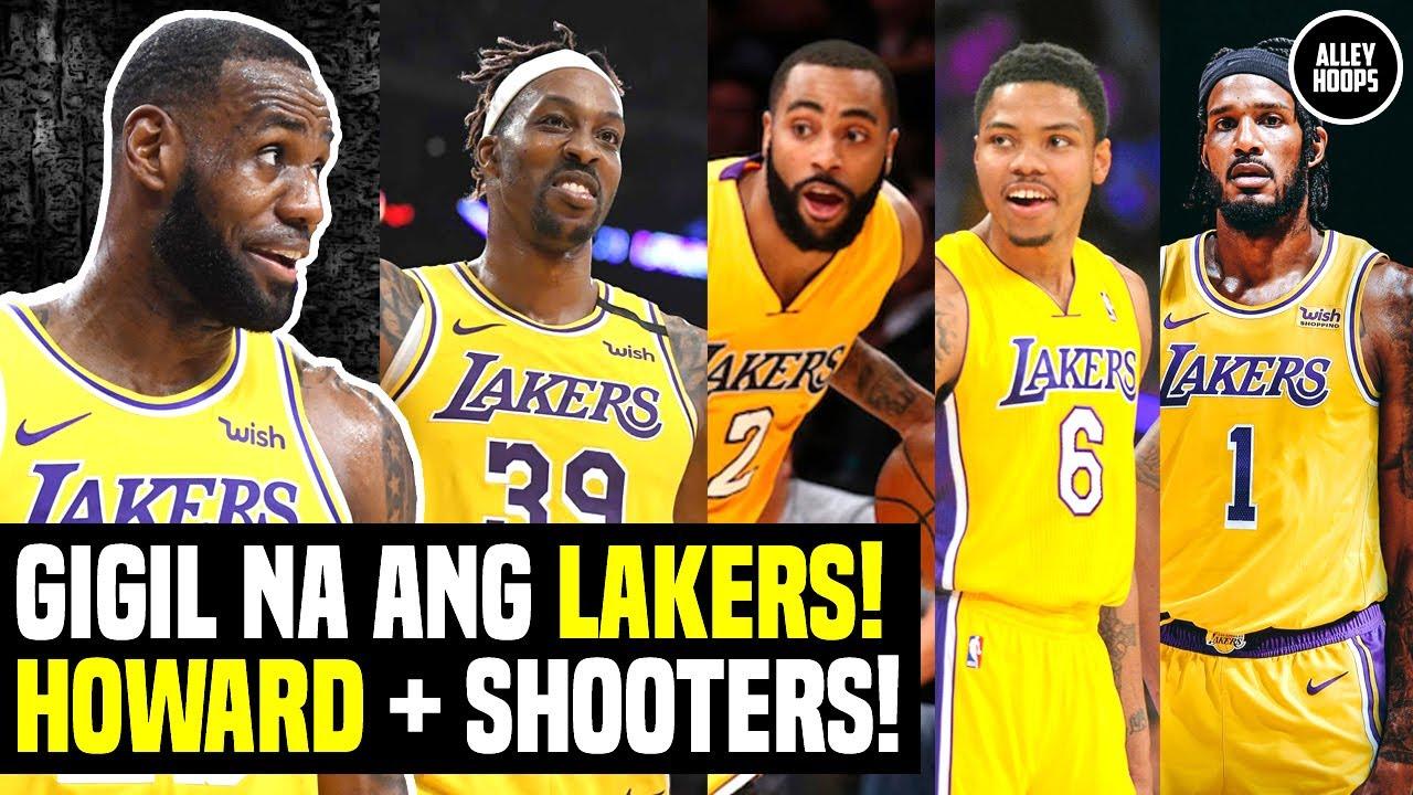 GIGIL Na ang Lakers, Dwight Howard PINABALIK! Beterano at Shooters ang Tinarget! Lakers News Today