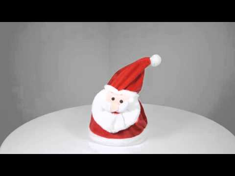 Animated Santa Hat (XS2898)
