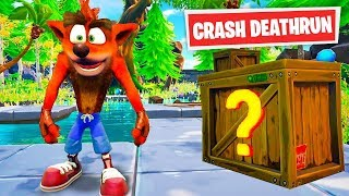 AMAZING Crash Bandicoot DEATHRUN in Fortnite Creative