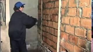Строительство дома своими руками - Штукатурка стен своими руками