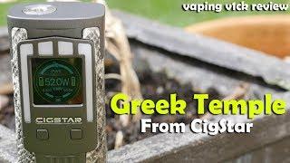 Cigstar Greek Temple 230W TC Box Mod - Review