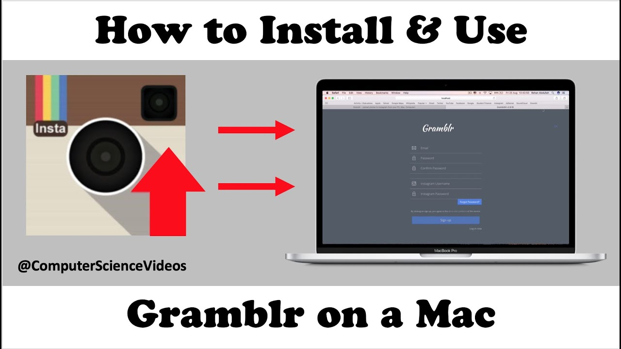 How To 'DOWNLOAD' & 'INSTALL' Gramblr On A Mac - TUTORIAL 2019