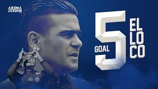cuplikan 5 gol el loco gonzales ke gawang semen padang 5 maret 2017 arema fc