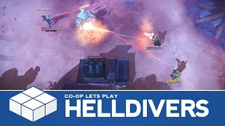 Helldivers | 3 Player Co-Op Gameplay