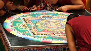 Sand Mandala - A Time To Build, A Time To Destroy