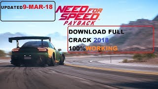 NFS PAYBACK DOWNLOAD PC +CRACK | 2018 | CPY | PC CRACK