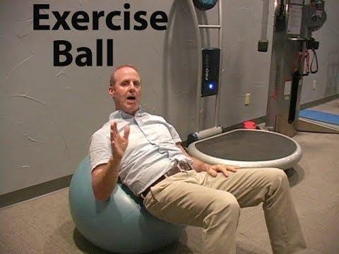Exercise Ball Stretch Full Spine