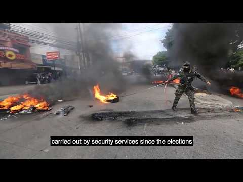 The Honduras post election crisis